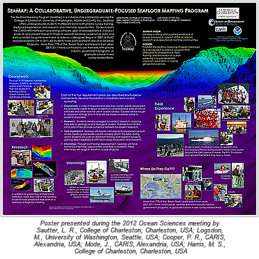 SeaMap: A collaborative, undergraduate-focused Seafloor Mapping Program