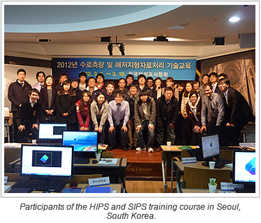 Participants of the HIPS and SIPS training course in Seoul, South Korea.