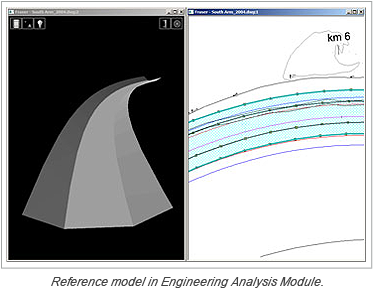 Reference model in Engineering Analysis Module.