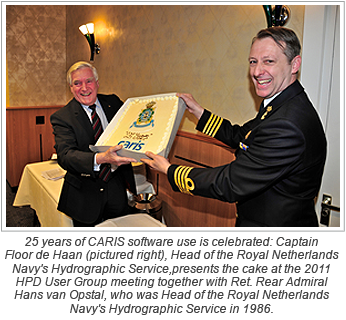 The Royal Netherlands Navy and CARIS Celebrate 25 years of Cooperation