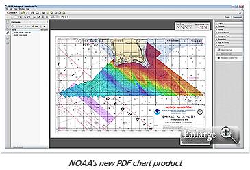NOAA's new PDF chart product