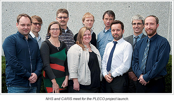 NHS and CARIS meet for the PLECO project launch
