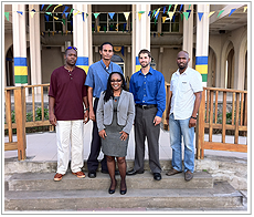 The Antigua and Barbuda Department of Marine Services and Merchant Shipping and Saint Vincent and the Grenadines Maritime Administration received training on CARIS LOTS Limits and Boundaries by CARIS LOTS specialist Dan Morash.