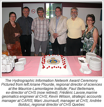 CARIS Database Solution Completes Canadian Hydrographic Information Network