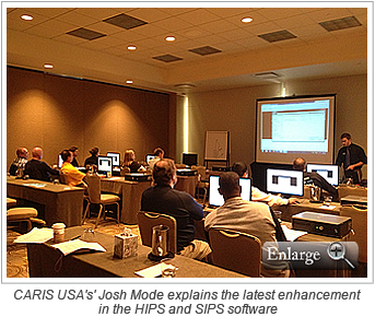 CARIS USA's' Josh Mode explains the latest enhancement in the HIPS and SIPS software