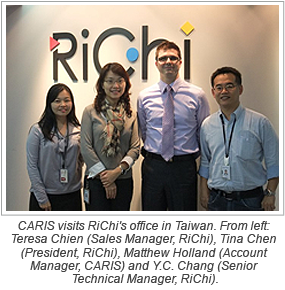 CARIS and RiChi's Collaboration Benefits the Geospatial Community in Taiwan